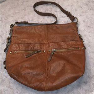 The Sak 100% brown leather bag